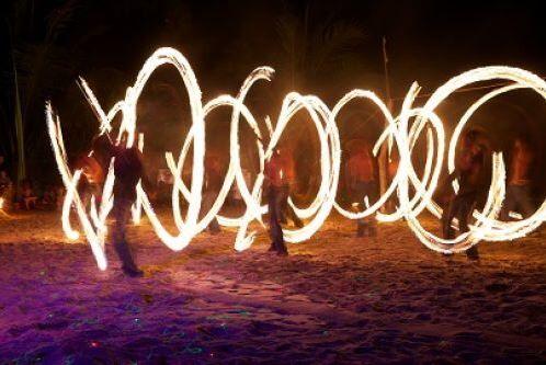 Vanuatu Fire Show
